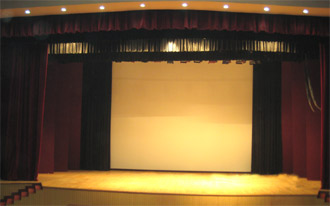 Dr. S.R Auditorium - The Stage - Click to Enlarge