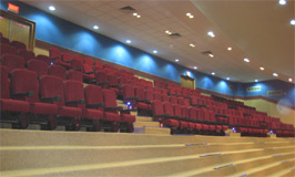 Dr. S.R Auditorium - Internal Features : Click to Enlarge